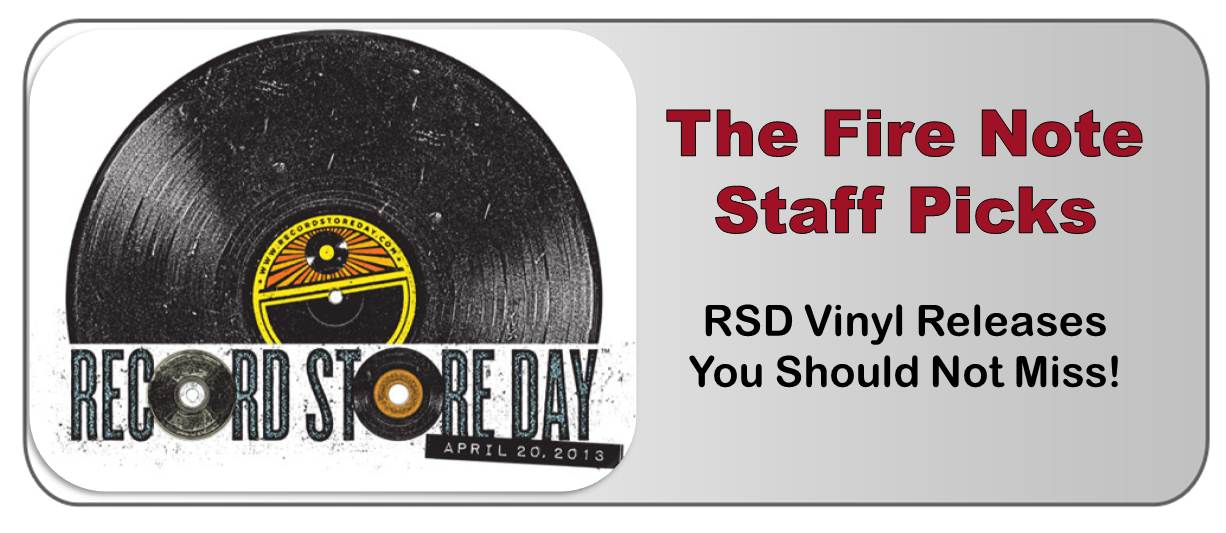 2013 Record Store Day Staff Picks