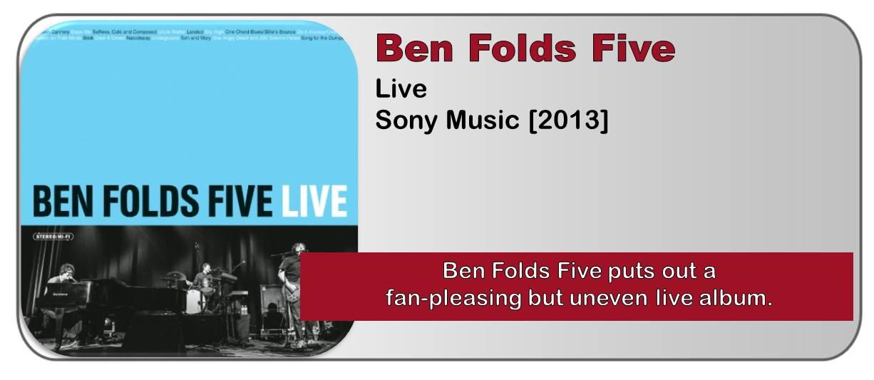Ben Folds Five: Live [Album Review]