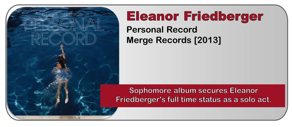 Eleanor Friedberger: Personal Record [Album Review]