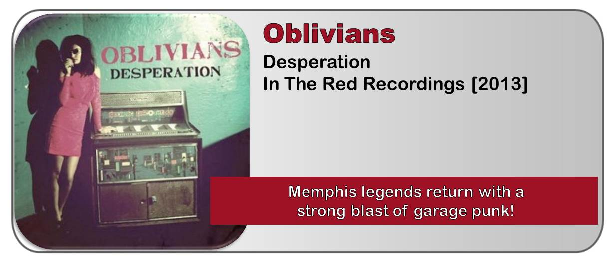 Oblivians: Desperation [Album Review]