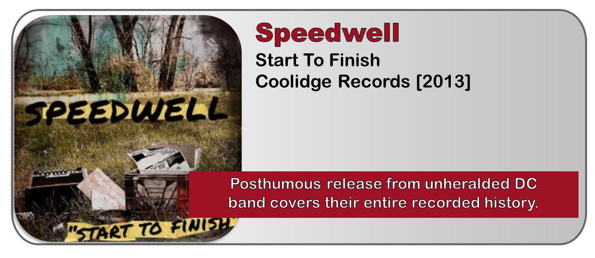 Speedwell: Start To Finish [Album Review]