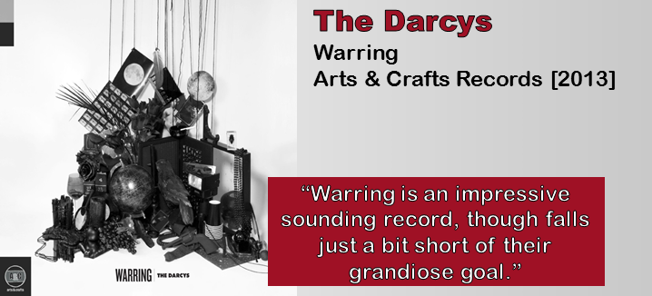The Darcys: Warring [Album Review]