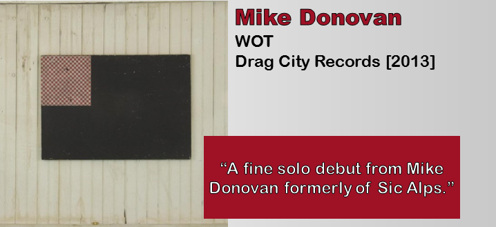 Mike Donovan: WOT [Album Review]