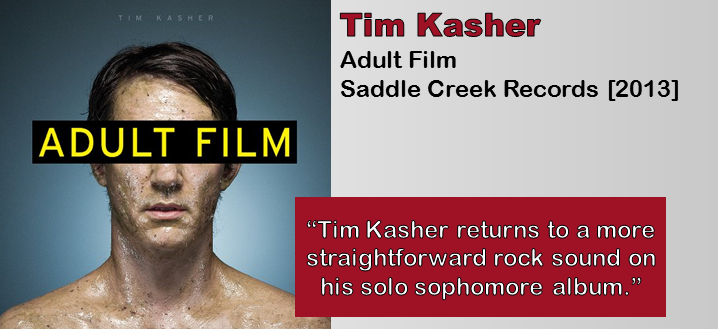 Tim Kasher: Adult Film [Album Review]