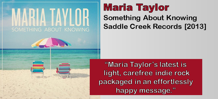 Maria Taylor: Something About Knowing [Album Review]