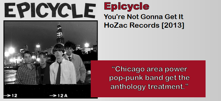 Epicycle: You're Not Gonna Get It [Album Review]