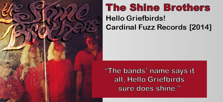 The Shine Brothers: Hello Griefbirds! [Album Review]