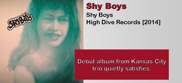 Shy Boys: Shy Boys [Album Review]
