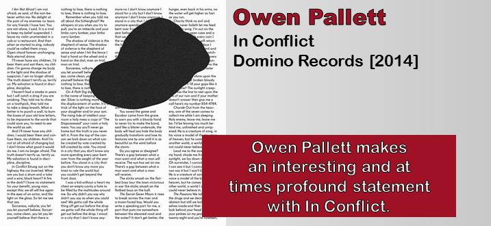 Owen Pallett: In Conflict [Album Review]