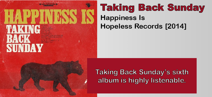 Taking Back Sunday: Happiness Is [Album Review]