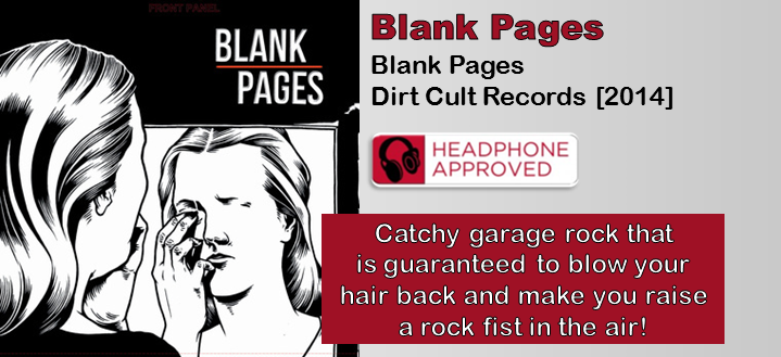 Blank Pages: Blank Pages [Album Review]