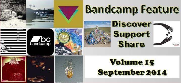 Bandcamp Artists: Discover, Support, Share – Volume 15 (September 2014)