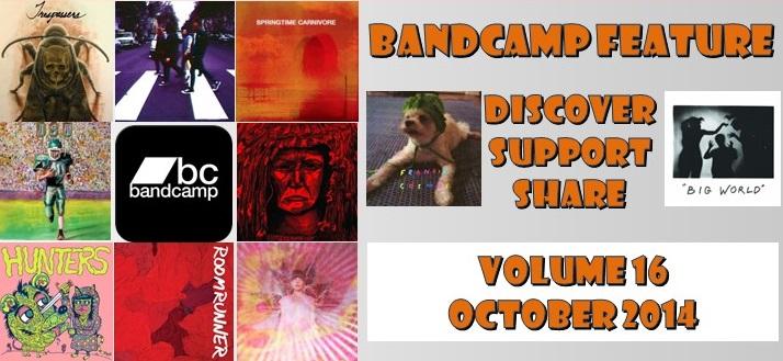 Bandcamp Artists: Discover, Support, Share – Volume 16 (October 2014)