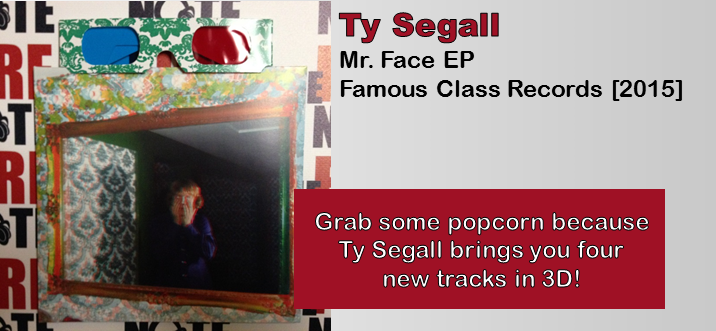Ty Segall: Mr. Face EP [7-Inch Review]