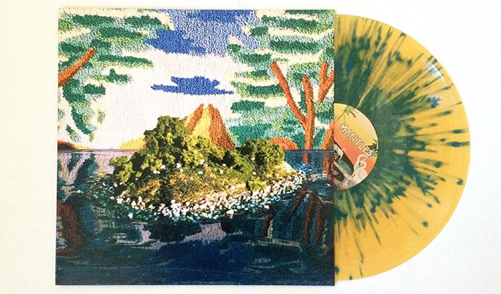 The Mantles – All Odds End – Beer+Blue Splatter Vinyl