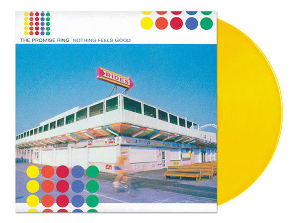 The Promise Ring's Nothing Feels Good on Yellow Vinyl / 500 Copies