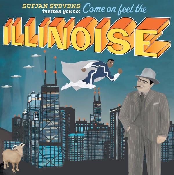 Sufjan Stevens' Illinois / The Blue Marvel Edition on Vinyl