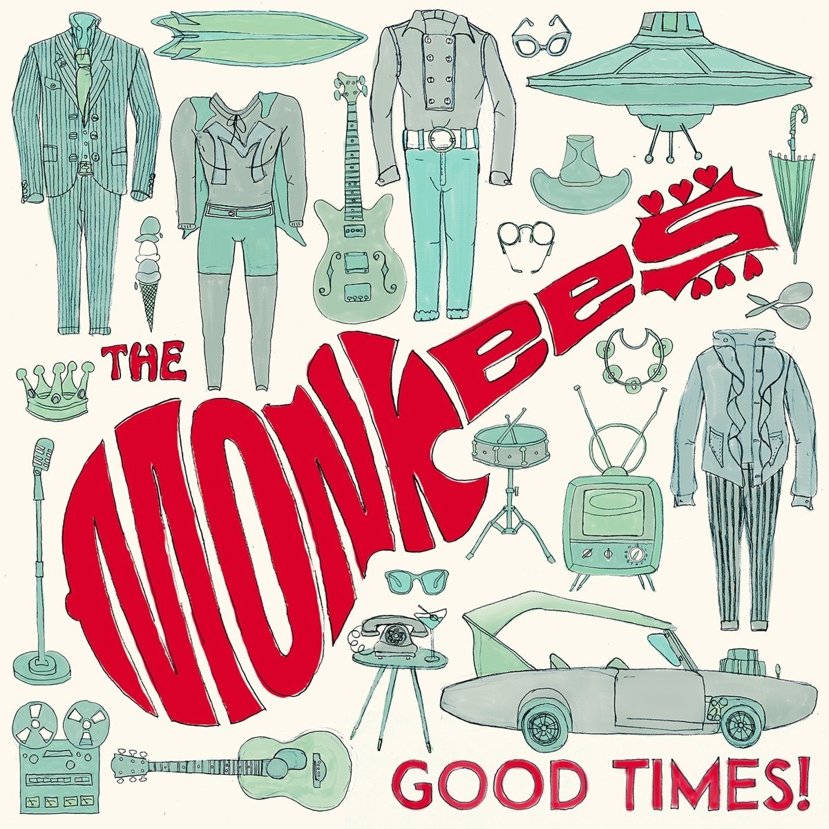 The Monkees: Good Times! [Album Review]