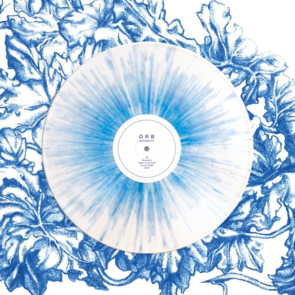 ORB: Naturality (White With Blue Earth Splatter Vinyl LTD 1000 Copies)