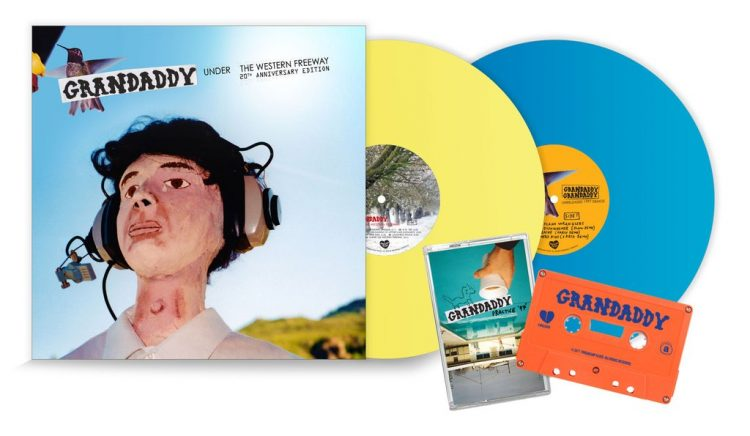 Grandaddy: Under The Western Freeway – 20th Anniversary Reissue (1 Yellow, 1 Blue Vinyl LTD Copies)