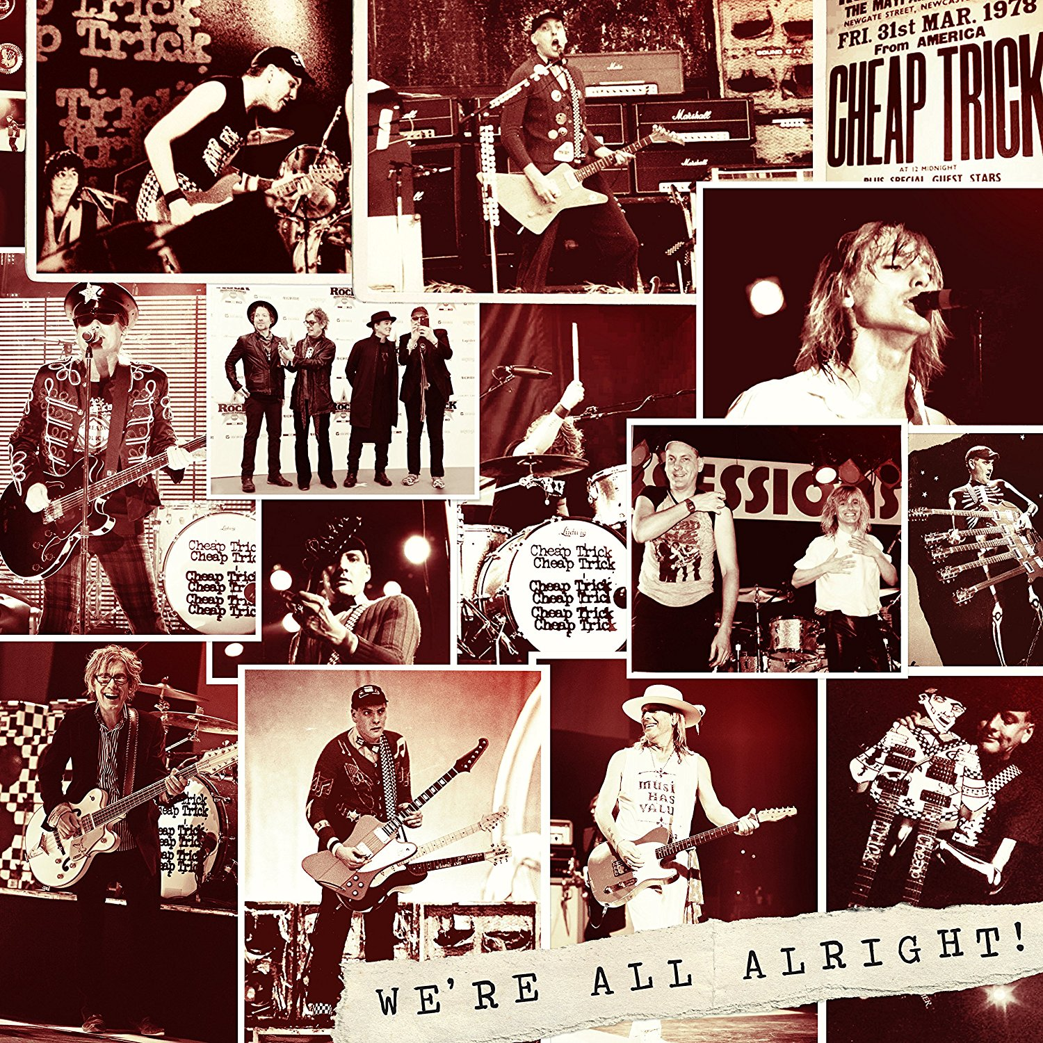 Cheap Trick: We're All Alright! [Album Review]