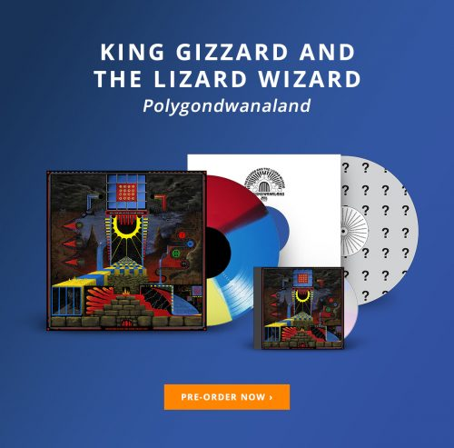 "King Gizzard & The Lizard Wizard – ATO ""Polygondwanaland"" Vinyl Editions"
