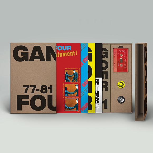 Gang Of Four: 77-81 5LP Box Set (Black Wax | Limited)