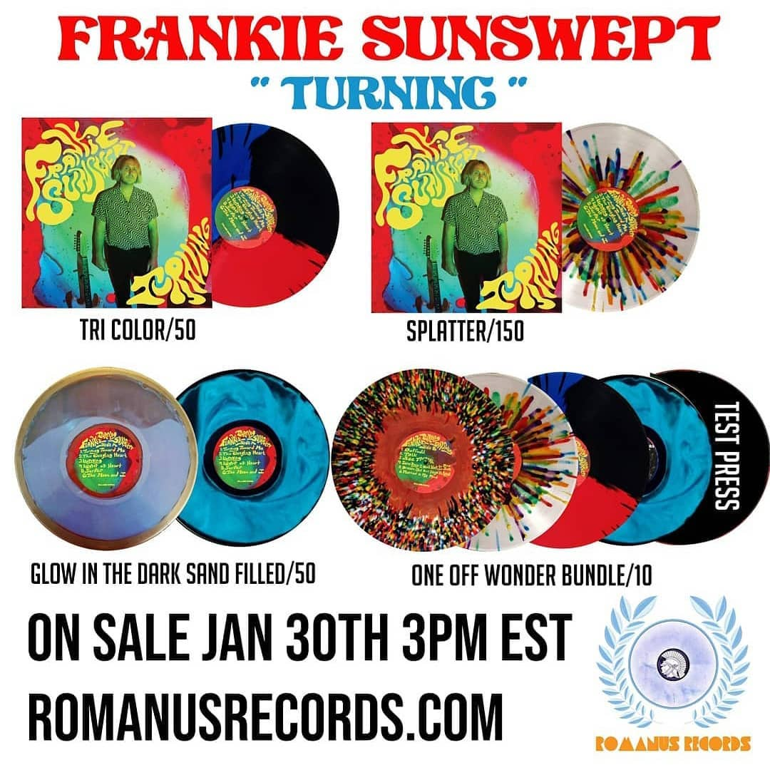 Frankie Sunswept: Turning (Multiple Variants | Limited)