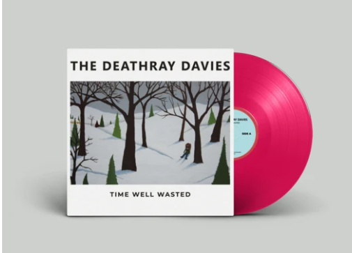 The Deathray Davies: Time Well Wasted (Astroturf Pink Wax | 100 Copies)
