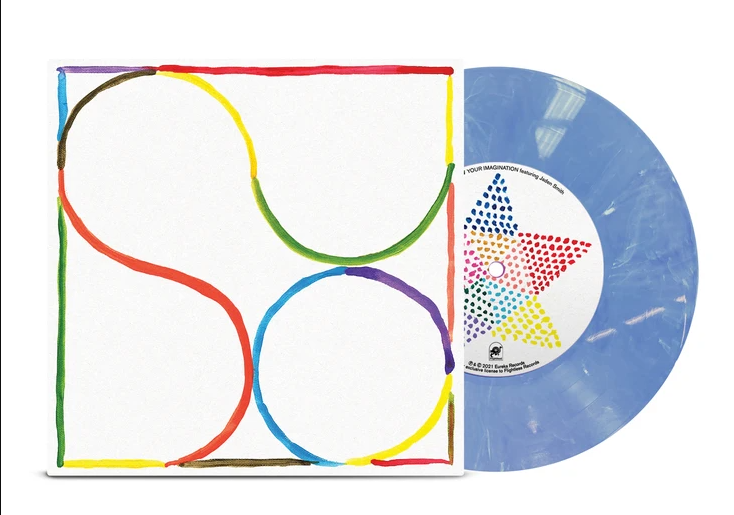 "Babe Rainbow: Your Imagination 7"" (Smokey Blue Wax | 1000 Copies)"