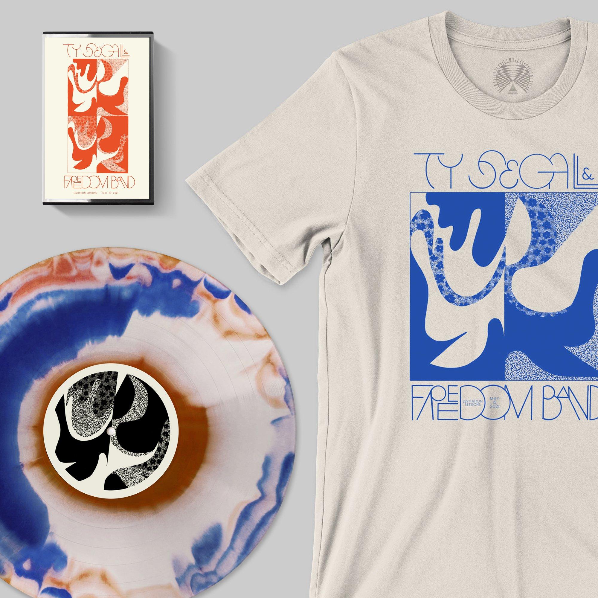 Ty Segall & Freedom Band: Levitation Session (Orange/Blue/Bone Swirl Wax | Limited)